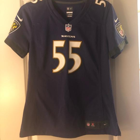 NFL Ravens Terrell Suggs Replica Jersey size small